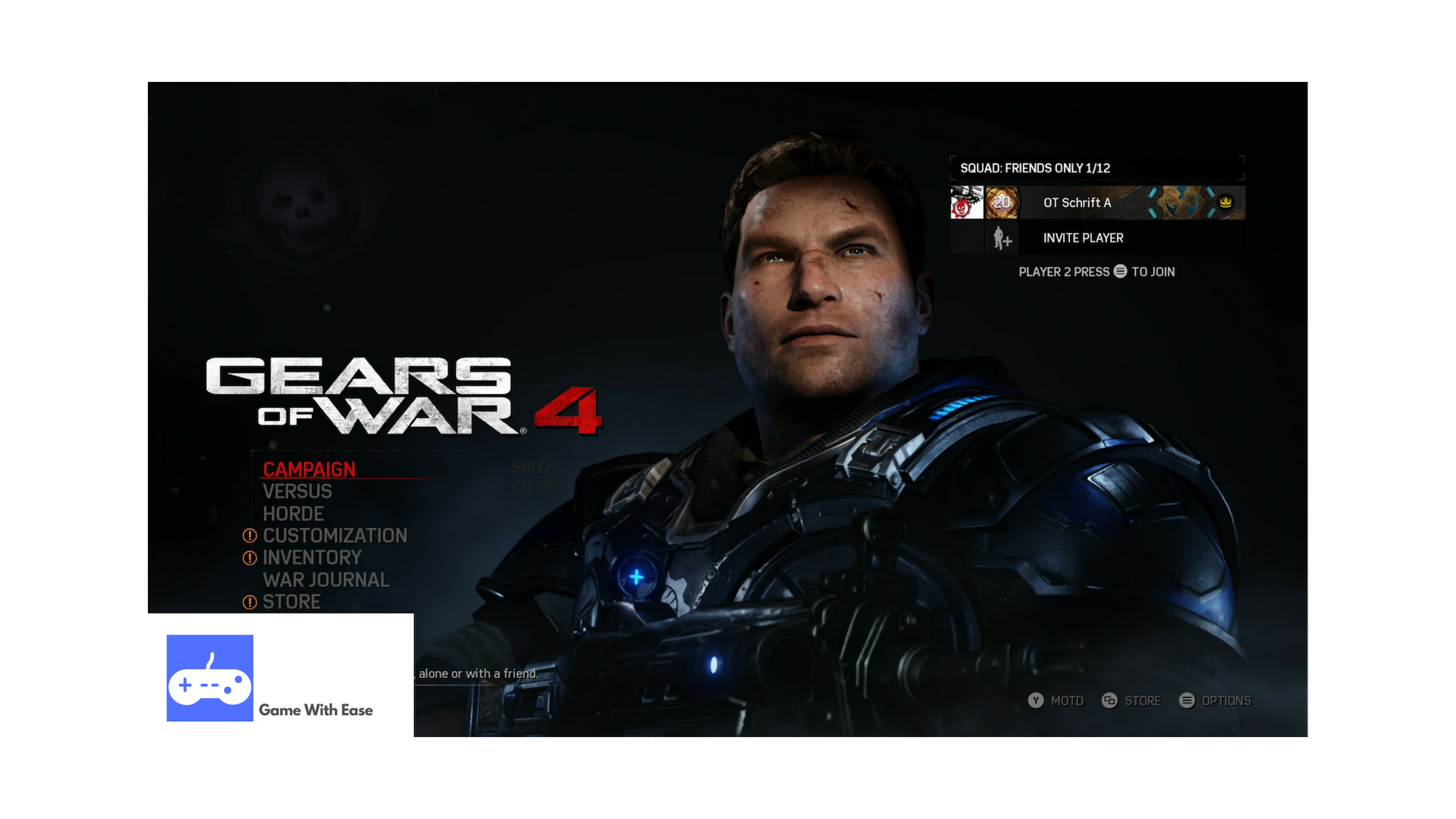 gears of war 4 main menu